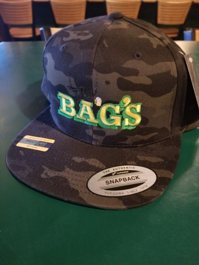 Bag's Black Camo Hat